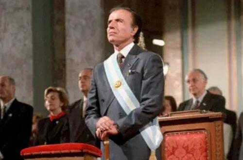 Carlos Menem, ex-presidente de Argentina, fallece a sus 90 años